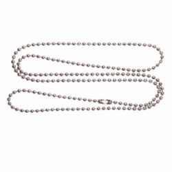 Steel balls necklace