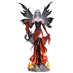 Fire Fairy with Black...